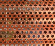 Coppernickel UNS C71500 Perforated Plate